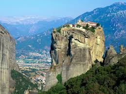 Meteora Greece Map by The Existence Of The Monasteries On The Top Of The Natural