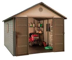amazon com lifetime 6433 outdoor storage shed with windows 11