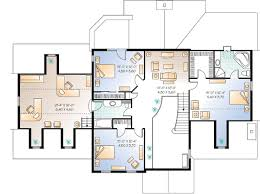 The Office Us Floor Plan The Ultimate 2 Story Home Office 21356dr Architectural Designs