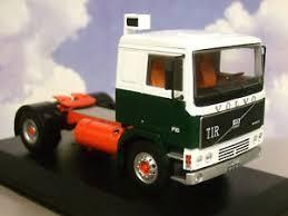 volvo truck tractor ixo diecast 1 43 1983 volvo f10 f 10 truck tractor cab green white