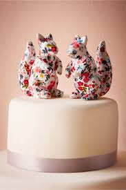 squirrel cake topper printed squirrel cake topper 2 in sale bhldn