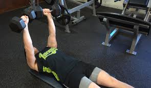 how to dumbbell floor press ignore limits