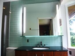 Lighted Mirrors Bathroom by Wall Mirror Lighted Makeup Mirror Wall Mounted Battery Full