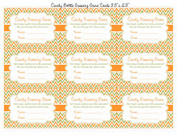 candy guess baby shower game little pumpkin baby shower theme