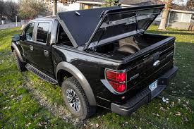 Folding Truck Bed Covers Black Folding Truck Bed Cover On Black Ford F 150 Raptor Flickr