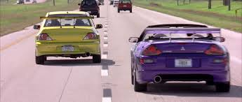eclipse mitsubishi fast and furious image lancer evo u0026 eclipse spyder on the move 2 png the