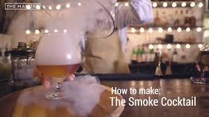 the manual bartender how to make a smoked cocktail youtube
