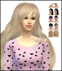 custom hair for sims 4 my sims 4 blog simaniacos long straight hair edit for females my