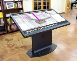 Drafting Table For Sale Multitouch Drafting Table A New Take On The Mechanical Desk Ideum