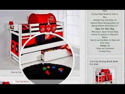 Cars Bunk Beds Cars By Disney Bunk Beds For For Boys Or