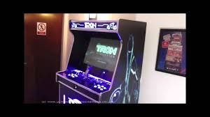 legacy cabinets reviews tron legacy arcade cabinet youtube