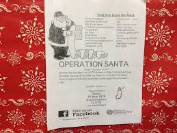 Operation santa sends stockings a piece of home to soilders