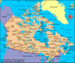 canadian map cities map of canada and cities major tourist attractions maps