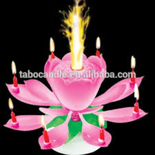 musical birthday candle beautiful musical blossom lotus flower birthday candle buy