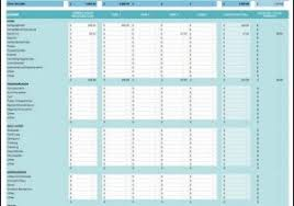monthly budget planner template student budget worksheet