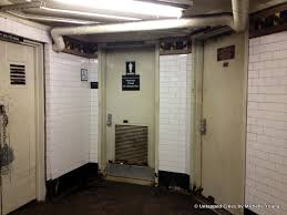 Bathrooms In Nyc Hold It In Why Are Most Bathrooms In The Nyc Subway Locked