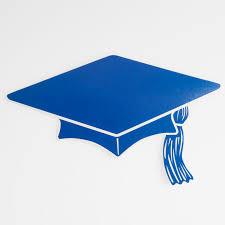 blue graduation cap graduation graduation decorations mini grad cap cutouts