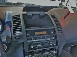 custom nissan maxima 2003 2004 2008 nissan maxima stereo removal tip automotive zone