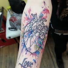 download heart tattoo watercolor danielhuscroft com