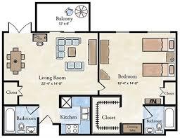 independent living one bedroom apartment floor plans larksfield
