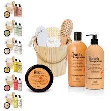 brubaker happiness bath gift set in wooden bucket