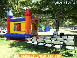 party chairs and tables for rent jumper bouncer bounce house rentals jumper rental san fernando