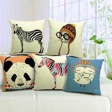 Sofa Pillow Cases Popular Zebra Pillow Covers Buy Cheap Zebra Pillow Covers Lots