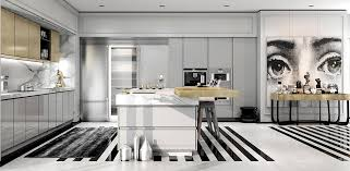 art deco style kitchen cabinets modern art deco home visualized in two styles