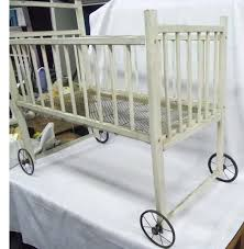 antique baby beds s antique white iron baby crib u2013 hamze