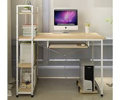 Computer Desk With Tower Storage Computer Desk Table 6 Storage Shelving Book Shelf Study Office