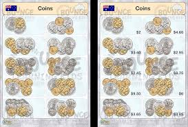 money aus counting silver u0026 gold coins bounce learning kids