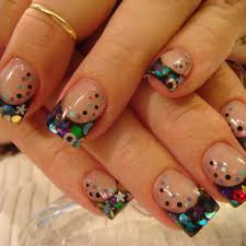 unique acrylic nails how you can do it at home pictures designs