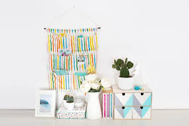 Desk Organized by Diy This Hanging Storage Bag And Keep Your Home Office Organized