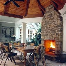Stone Fireplace Kits Outdoor - 253 best outdoor fireplaces images on pinterest outdoor