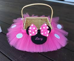 halloween basket minnie mouse halloween basket halloween bucket custom color
