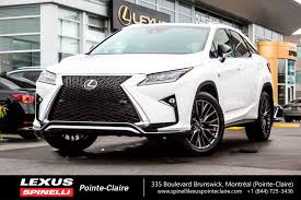 lexus nx300h occasion used 2017 lexus rx 350 f sport serie 2 for sale in montreal