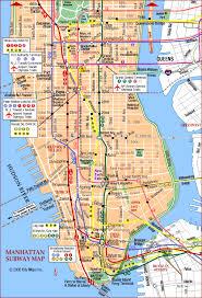 of manhattan road map of manhattan subway south manhattan york