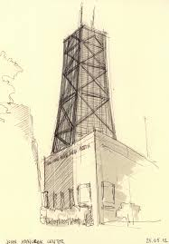 ny u0026 chicago architecture sketches on behance