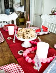 Valentine S Day Tablecloth by Valentine U0027s Day Party For The Family My Creative Days