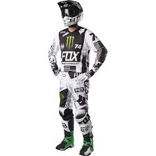 motocross helmets ebay new fox racing 2017 mx v2 union le white black green dirt bike