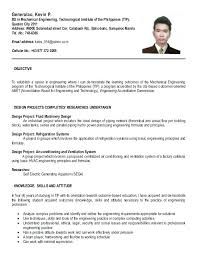 basic resume format for engineering students engineering student resume exles