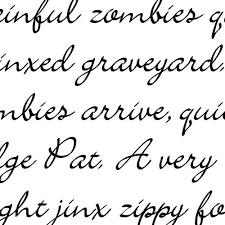 calligraphy font scrap calligraphy font