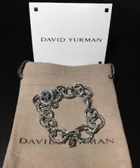 silver chain bracelet ebay images David yurman link bracelet ebay JPG