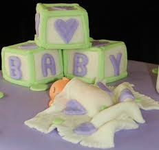 creative cakes by lynn purple u0026 green baby shower cake