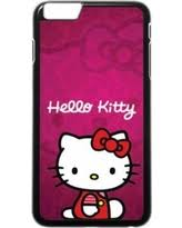 Incredible Deal Kitty Striped Iphone 5 Case White Hk