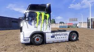 2014 volvo truck monster energy truck volvo for euro truck simulator 2