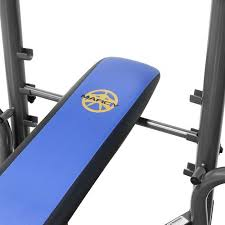 Marcy Bench Press Set Marcy Standard Bench 80 Lb Weight Set Heavy Duty High Quality