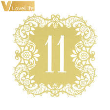 Cheap Gold Centerpieces by Online Get Cheap Gold Table Numbers Aliexpress Com Alibaba Group