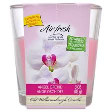 bulk williamsburg candle air fresh orchid scented