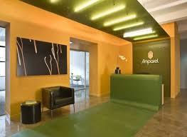 Ovadia Design Groups Interior Architecture Of A Small Office - Office space interior design ideas